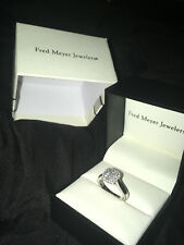 White Gold Diamond Ring by Fred Meyer Jewelers Valentines Wedding Ring