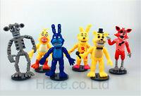 6pcs/set Five Nights at Freddy's Cosplay Figure Kids PVC Toy