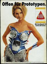 HB -- Offen für Prototypen  -- Werbung von 1991 -