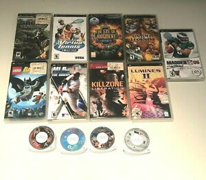 Sony PSP Playstation Video Game & Movie Lot Bundle Pick & Choose Bulk Discounts