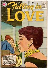 FALLING IN LOVE #18 - April 1958 - DC - Silver Age Romance Classic!