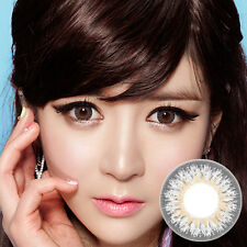 Lentilles de Contact Gris Color Contact Circle Lenses Dia14.5mm EyG