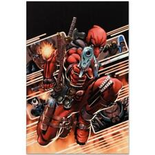 MARVEL Comics Numbered Limited Edition Cable & Deadpool Canvas Art