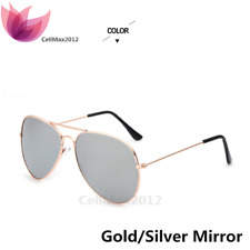 Aviator Retro Vintage Color Mirror Sunglasses Fish Drive Anti Glare Sport Men