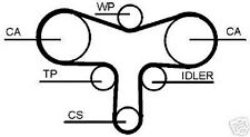 Correa de distribución, correa dentada Set VW PASSAT 3b, 3b2, 3b3, 3b5, 3b6,