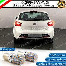 COPPIA LAMPADE PY21W BAU15S CANBUS 35 LED SEAT IBIZA IV 4 FRECCE POSTERIORI