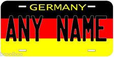 Germany Flag Aluminum Novelty Car License Plate