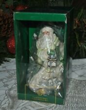 Fitz & Floyd 2000 Collector's Series Annual Xmas Bell Gregorian Santa Limited