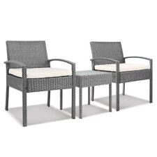 Gardeon 3-piece Outdoor Set - Grey