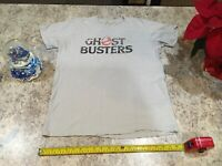 Ghostbusters Vintage Logo Shirt Columbia Pictures Grey Small RARE HTF XMAS GIFT