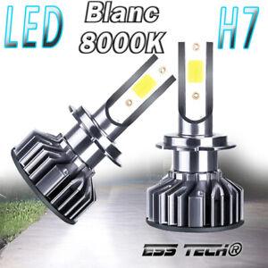 Kit ampoule LED H7 COB 8000K Blanc 12/24V ESS TECH® no error OBD Canbus inclus