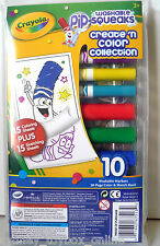 Crayola Pip Squeaks Washable 10 Markers 30 Page Sketch Book (Last 3) DISCOUNTED