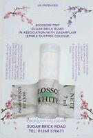 Sugarflair White Blossom Tint Powder, 7ml, Edible Food Colour Dust