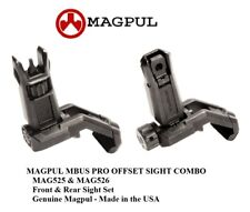 MAGPUL MBUS PRO Offset Sight Combo MAG525 MAG526 Flip Set Front & Rear Included