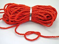 10 Meters Red Twist Cord String Twine Rope Bracelet Jewelry Synthetic Silk