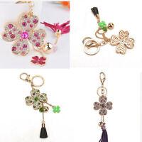 Crystal Rhinestone Keyring Charm Pendant Purse Bag Key Ring Chain Keychain hot