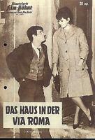 """IFB Illustrierte Film Bühne Nr. 6442 """" Das Haus in der Via Roma """""""