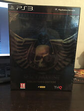 Warhammer 40000 Space Marine sur PS3 / PlayStation 3, COLLECTOR, NEUF VF