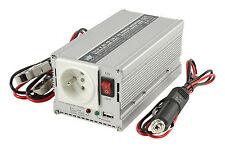 CONVERTISSEUR 24/220V ALLUME CIGARE SECTEUR 300W USB CAMPING CAR BATEAU CAMION