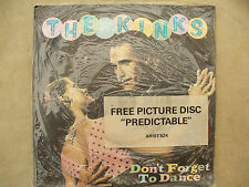 KINKS DON'T FORGET TO DANCE + PREDICTABLE PICTURE DISC new & sealed MINT ! 45rpm