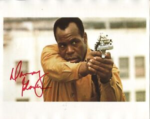 PREDATOR 2 movie photo signed by Danny Glover