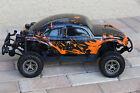 MOD REQUIRED READ! Custom Buggy Body Orange Splash Beetle Bug for ARRMA Senton