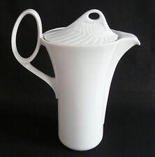 Kaffeekanne Kanne 1,25 l weiß Rosenthal MYTHOS Paul Wunderlich signiert, wie neu