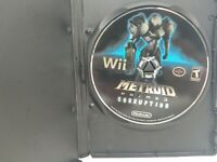 Metroid Prime 3: Corruption Disc Only (Nintendo Wii, 2007) Tested