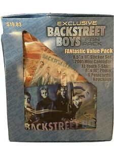 Backstreet Boys Exclusive Memorabilia Fan Pack