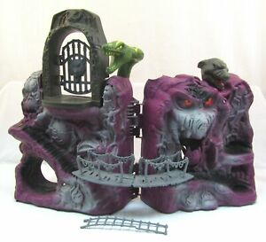 Vintage He-Man SNAKE MOUNTAIN Playset Near Complete Masters Of Universe MOTU