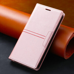 For Samsung Galaxy S10e S9+ S8+ S7 Edge Leather Wallet Case Magnetic Flip Cover