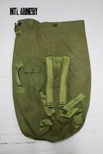 US Army Duffle Kit Bag Backpack Military