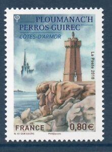 TIMBRE 5244 NEUF XX TTB - PLOUMANAC'H - COTES D'ARMOR - PHARE ET CHAPELLE
