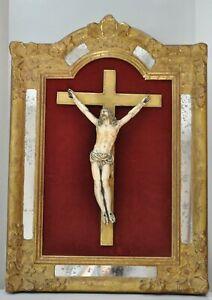 Crucifix - Grand Christ - Haute époque - France 17ème