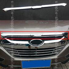 Fit For Hyundai Tucson ix35 10-2014 Front Grill Grille Bonnet Cover Trim Molding