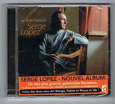 SERGE LOPEZ - AU FIL DE L'HORIZON - CD 13 TITRES - 2011 - FLAMENCO - NEUF NEW