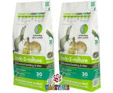 SPECIAL Back 2 Nature Paper Bedding 30L x 2 Rabbit /G Pig/Birds etc (2 x FIB006)