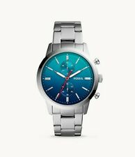 new authentic Fossil  Townsman 44 mm Chronograph Stainless Steel Watch fs5434