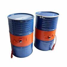 Oil Drum Silicone Heating Belt Oil Gas Tank Heater Oil Biodiesel Metal Barrel US
