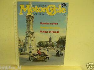 CLASSIC MOTORCYCLE 1982-OKT/NOV VOL2 NR 3,SCOTT,RUDGE,VILLIERS,VELOCETTE