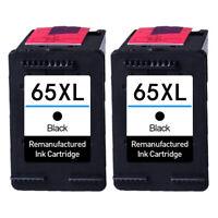 Black Ink Cartridge for HP 65 XL Deskjet 2622 2624 2652 2655 3722 3752 3755 3758