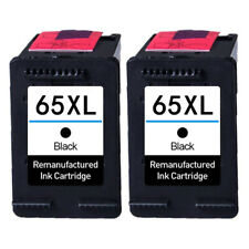 Black Ink Cartridge for HP 65 XL Deskjet 2622 2624 2652 2655 3722 3752 3755 3758