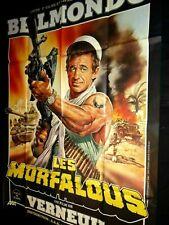 belmondo LES MORFALOUS ! affiche cinema LEGION ETRANGERE ; neuve d'epoque