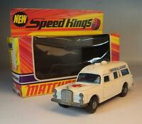 Matchbox Speed Kings K-26 Mercedes Benz Binz Ambulance OVP #646