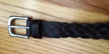 Kid's GAP XL Brown Braided Leather Belt