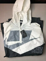 Nike Shield CJ5059-133 Poncho Jacket Unisex Black/White One Size Fits Most NEW