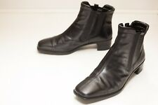ECCO Size 5 to 5.5 Black Ankle Boots Women's