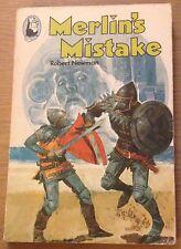 MERLIN'S MISTAKE Robert Newman Book (1977) RARE Paperback