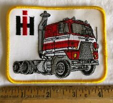 Vintage International Harvester Ih Patch Semi Tractor Trailer Truck Rig Picture