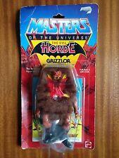 Grizzlor Vintage Mattel He-man Amos del universo Amos del universo MOC por favor leer